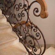 kovane stopniščne ograje
